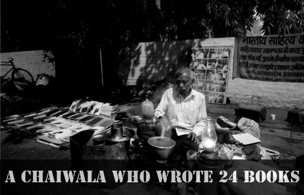 A Chaiwala Who Wrote 24 books