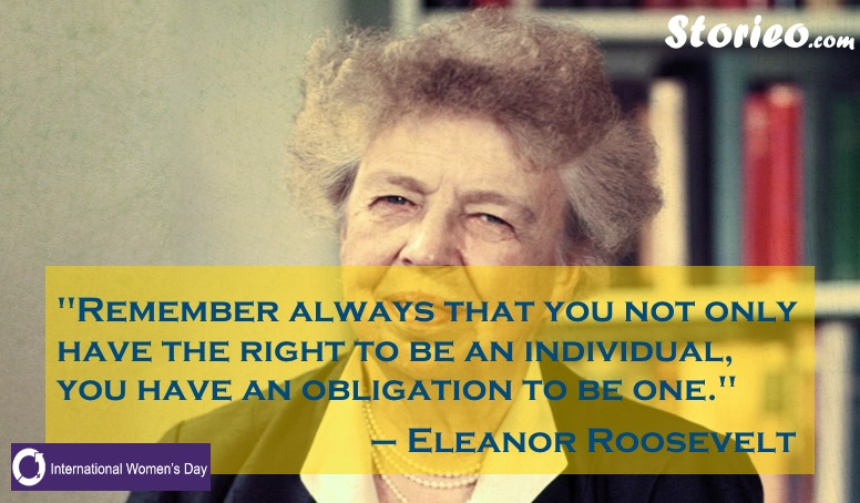 Eleanor Roosevelt-Storieo.com