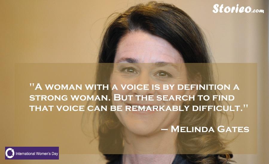 Melinda Gates-Storieo.com
