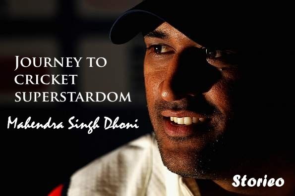 m s dhoni journey to cricket superstardom storieo
