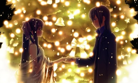 anime-couple-christmas-romantic-tree-cute