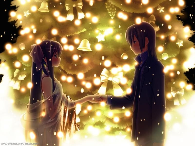 anime-couple-christmas-romantic-tree-cute
