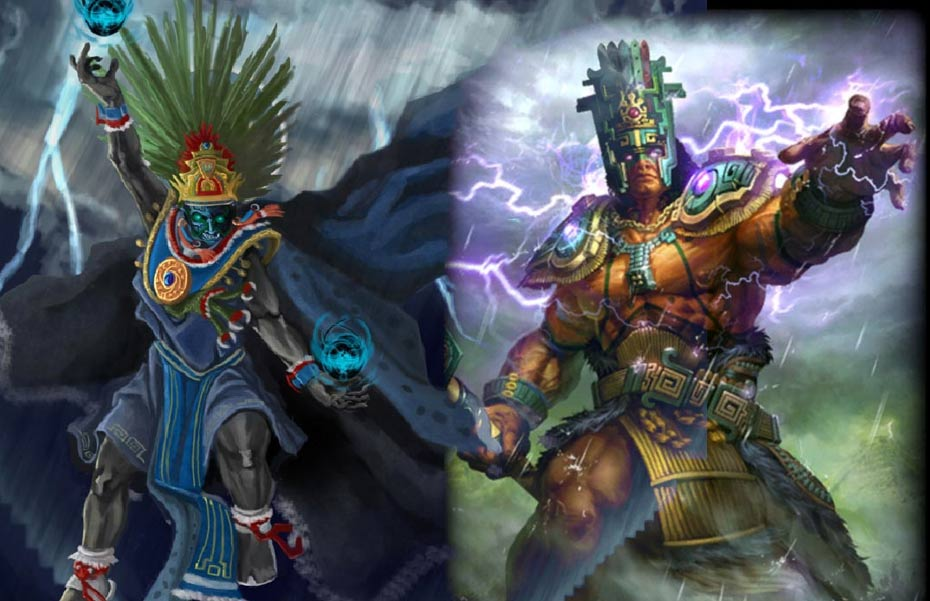 chaac-and-tlaloc