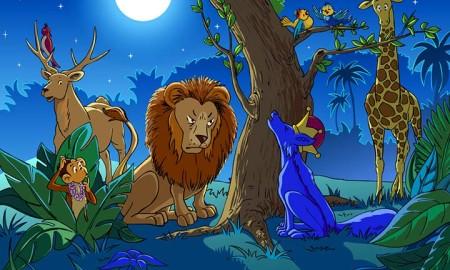 lion-and-jackal-story