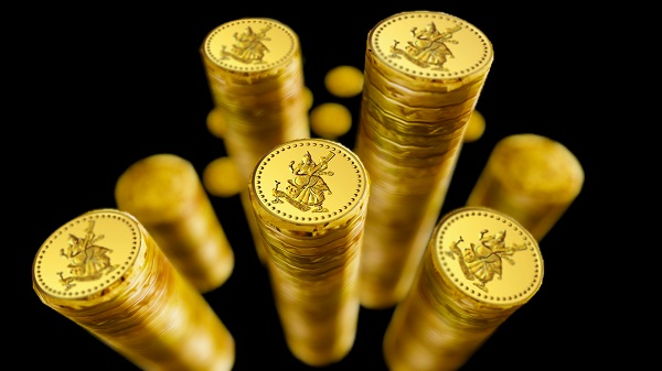 gold coin savings storieo