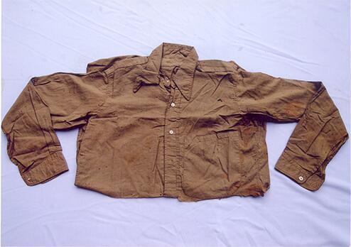 shirt-of-bhagat-singh-khaki-shirt-with-italian-collar-marked-bhagat-singh-on-the-collar