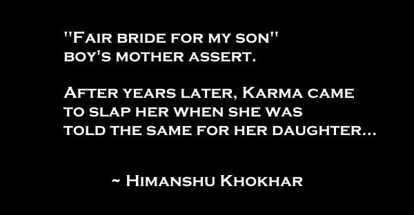 fair bride