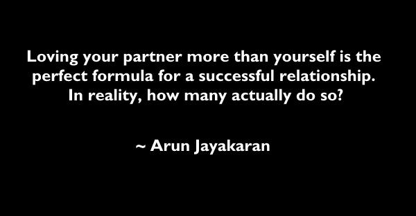 loving your partner