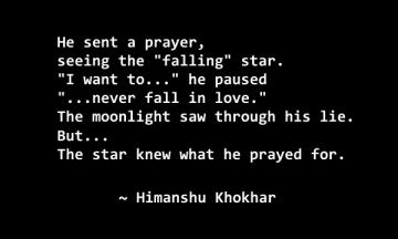 he sent a prayer