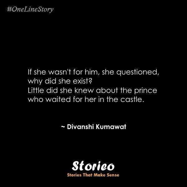 If she wasn't for him Divanshi Kumawat