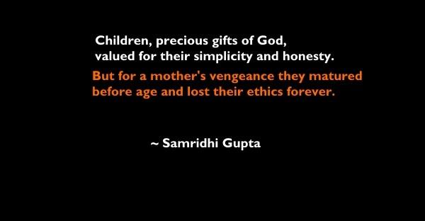 Samridhi Gupta one line story 1