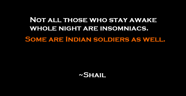 Some are Indian soldiers as well shail