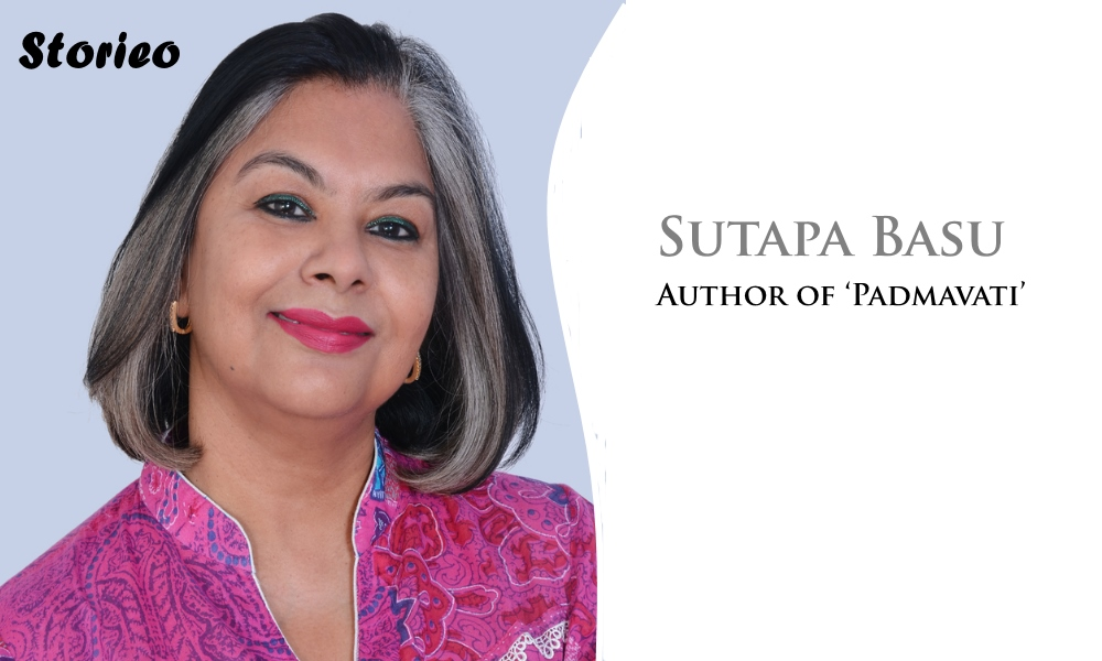 Author of 'Padmavati' sutapa basu storieo interview