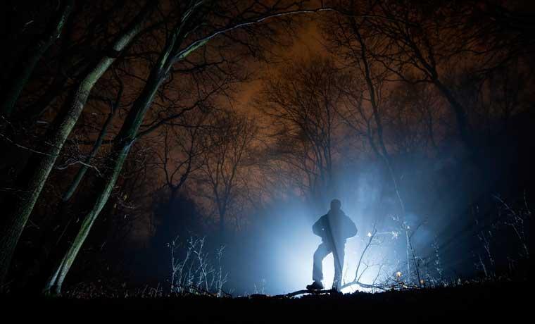 Spooky-man-in-woods