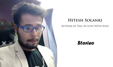 Hitesh Solanki Author of Fall In Love With Soul