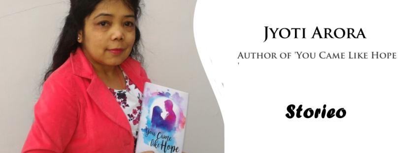 Jyoti arora You Came Like Hope