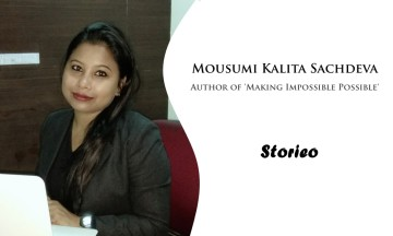 Mousumi Kalita Sachdeva Author of Making Impossible Possible