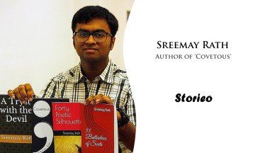 Sreemay Rath, Author of 'Covetous'