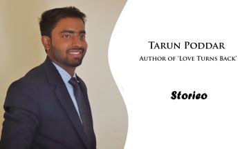 Tarun Poddar, Author of 'Love Turns Back'