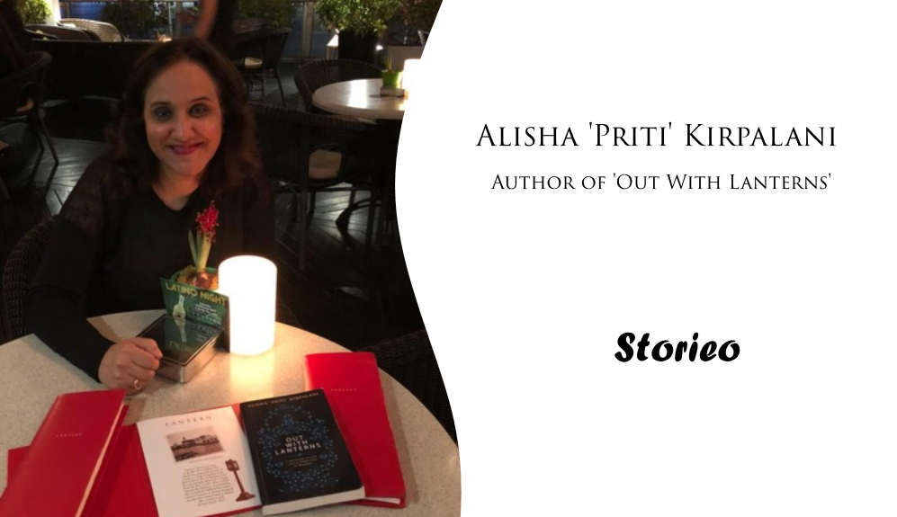 Alisha 'Priti' Kirpalani, Author of 'Out With Lanterns'