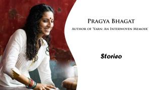 Pragya Bhagat, Author of 'Yarn An Interwoven Memoir'